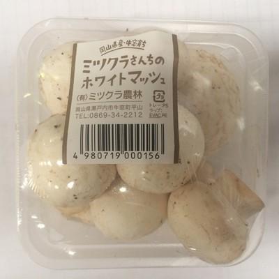 ホワイトマッシュルームカップ100g  【岡山】 mn